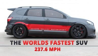 Nissan Quasqai става най-бързият SUV в света