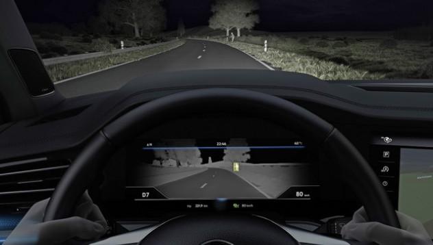 Бъдещите модели на VW с нощно виждане
