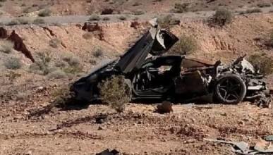 Полицията в Невада откри изоставен McLaren 720S