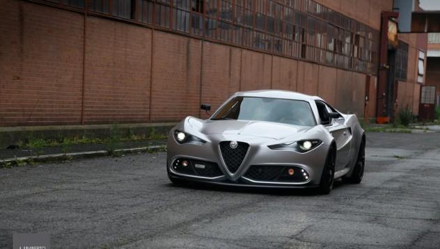 Alfa Romeo 4C е модерно изкуство на колела