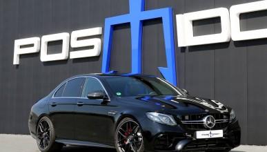 Mercedes-AMG E63 с леки подобрения от Poseidon