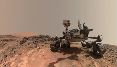 Марс с повишени нива на метан