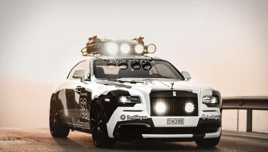 Камуфлажния Rolls-Royce Wraith отива за продан