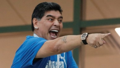 Марадона ще се откаже от Аржентина в държавен вестник