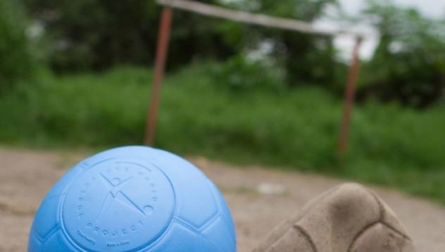 Най-здравата футболна топка