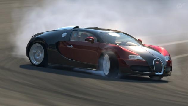 Bugatti може да дрифти