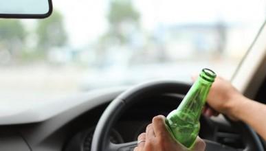 Пиян шофьор пиел само на светофари