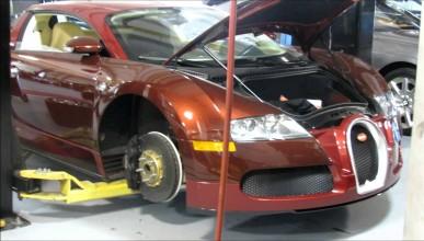 Годишното обслужване на Veyron струва 20 000 долара