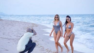 Ким Кардашиян подготвя корицата на Sport Illustrated
