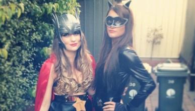 Жените с алтернативни костюми за Хелоун