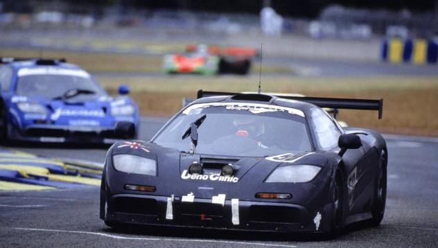 Хакинен разходи McLaren F1 GTR