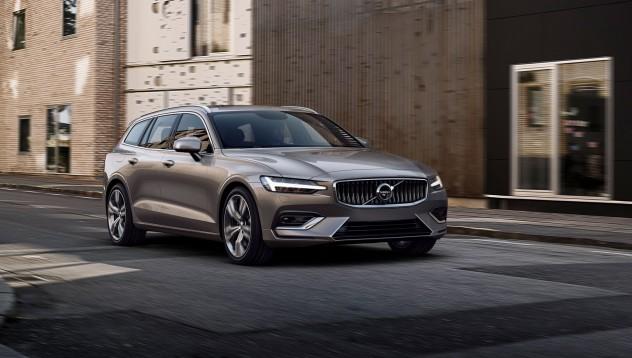 Volvo V60 впечатлява с визия
