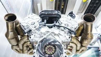 Aston Martin със свиреп двигател за Valkyrie