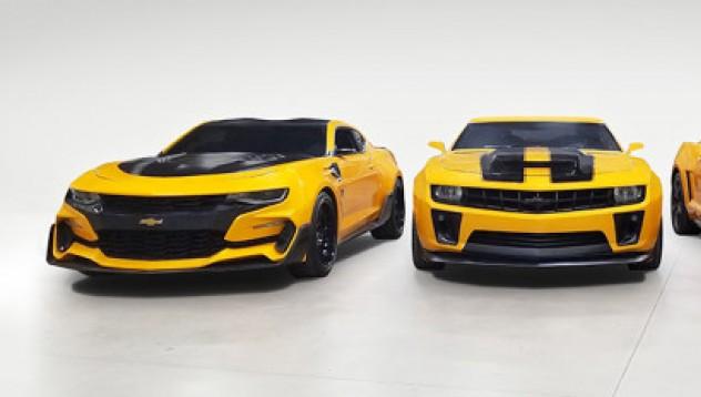 Всичките модели на Camaro от Transformer отиват на търг