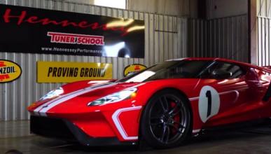 Hennessey няма да поставят V8 във Ford GT