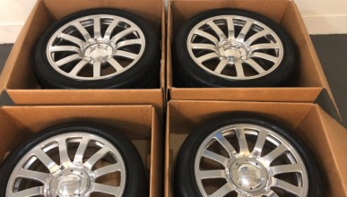 Оригинални колела на Veyron за 100 000 долара