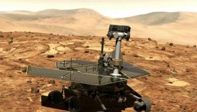 NASA официално погреба Опортюнити
