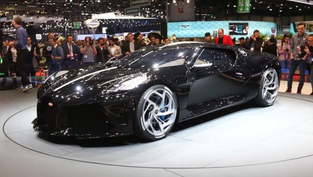Bugatti представя La Voiture Noire