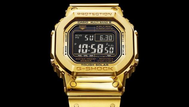 Златен ретро G-Shock