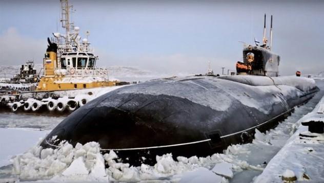 Русия представя нов клас ядрени подводници