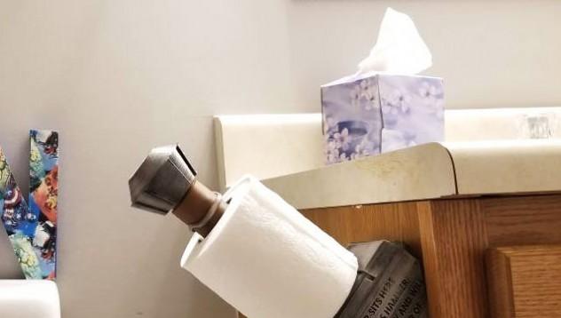 Чукът на Тор за тоалетната