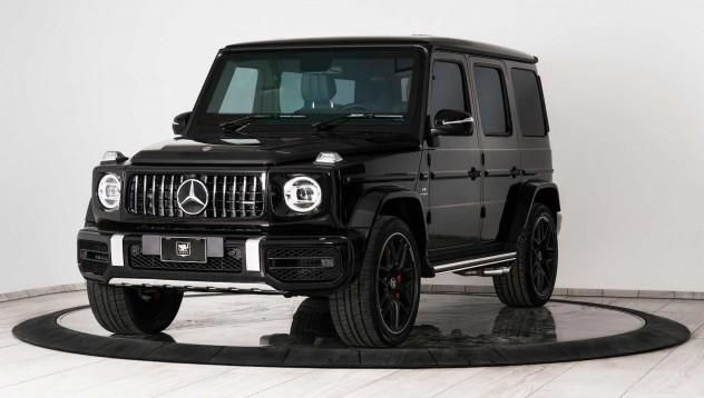 Mercedes-Benz G-Wagon с бронировка