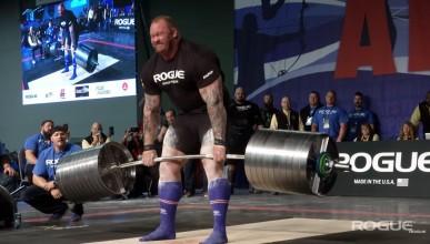 Хафтор вдигна 474 килограма