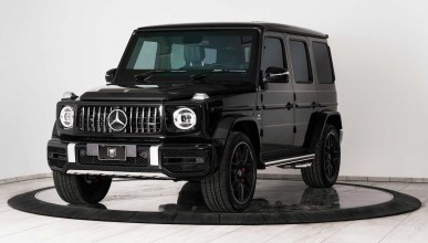 Mercedes-Benz G-Wagon с бронировка