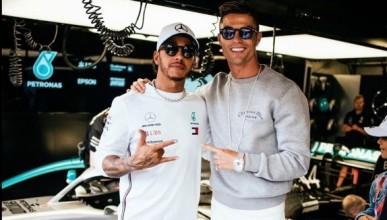 Роналдо с нов звяр в гаража си