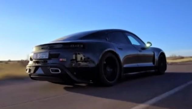 Електромобилът на Porsche