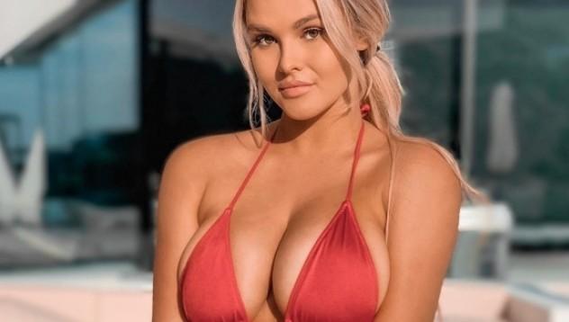 Скандалната блондинка от ШЛ пусна ново видео