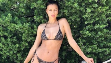 Ирина Шейк бе обявена за най-добрия модел на бански