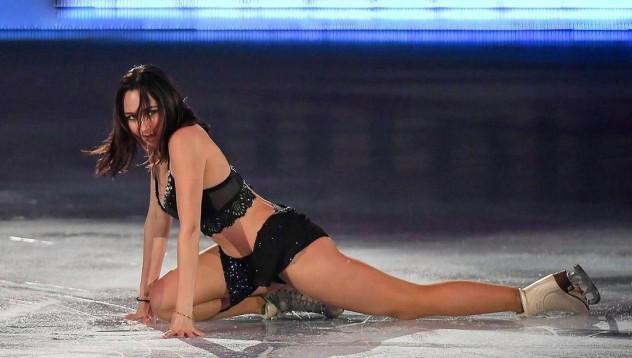 Руска фигуристка свали дрехите за еротично списание