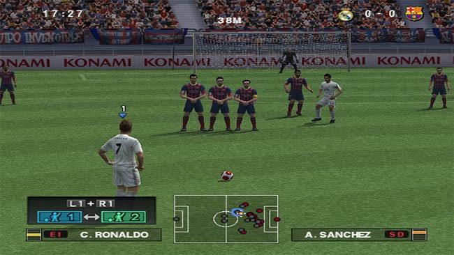 Реализмът на FIFA от времето на Playstation 2