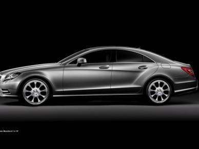 Mercedes CLS с джанти от Brabus