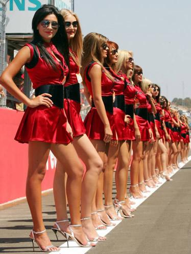 Най-красивите жени във Формула 1