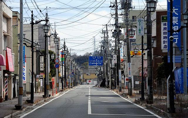 Фукушима е призрачен град