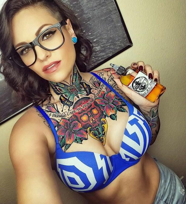 Жените с татуировки са изкуство (18+)