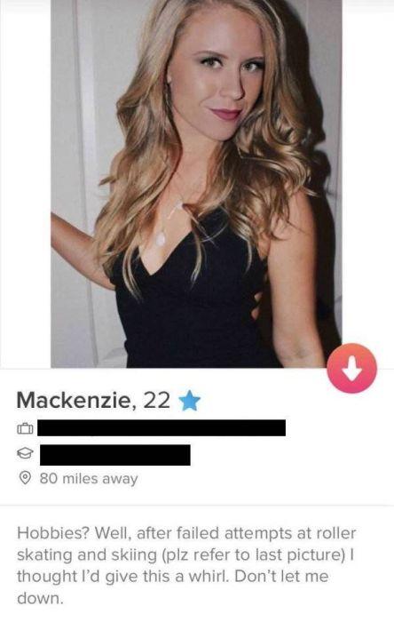 Някои луди профили от Tinder