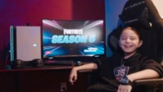 Най-младият професионален играч на Fortnite е на 8 години