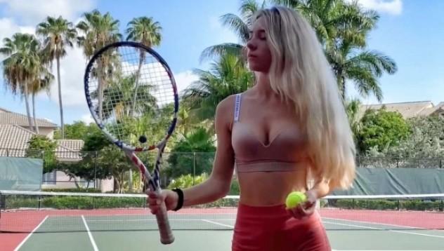 Тя ли е най-красивата тенисистка? (снимки)